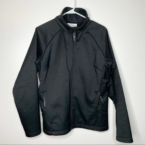 Columbia Men's Black Soft Shell Full Zipper Jacket